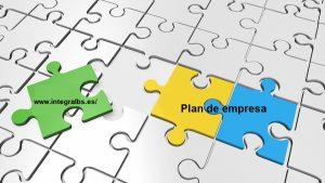 plan de empresa - puzzle